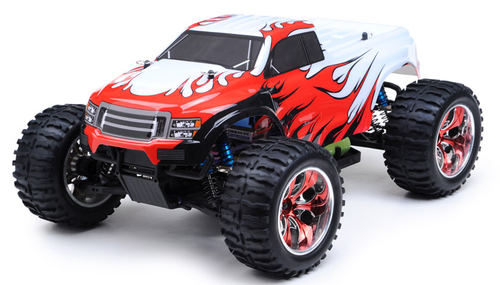 Hsp top version 2 4ghz 1 10 brushless truck