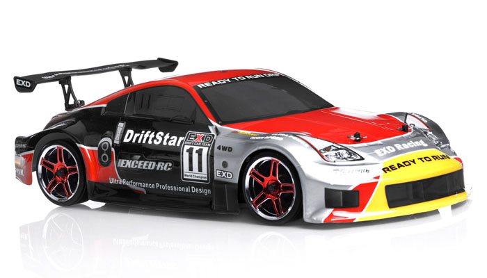 Exceed Rc Electric Driftstar Rtr Drift Car Red Version