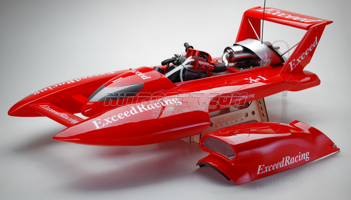Exceed Racing Fiberglass 26cc Gas Powered Artr Almost