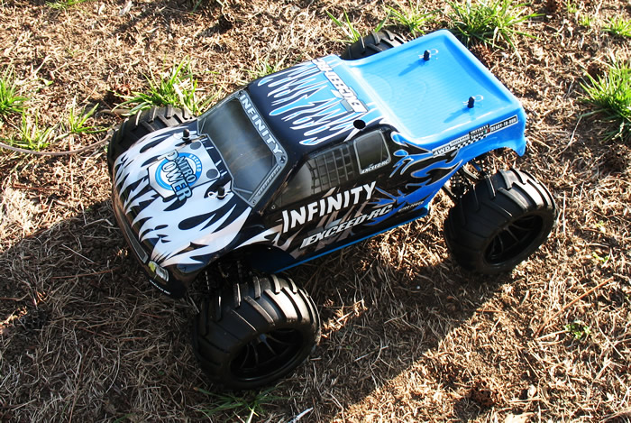 Infinitive Nitro Gas RC Monster Truck