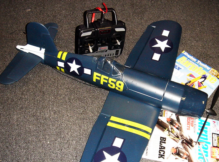 Corsair F4U RC Airplane Electric