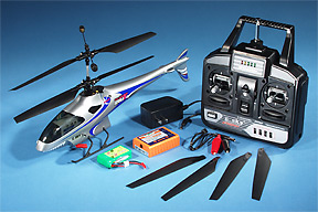 Lama V4 remote control electric RC micro heli comes out of the box ready to fly!