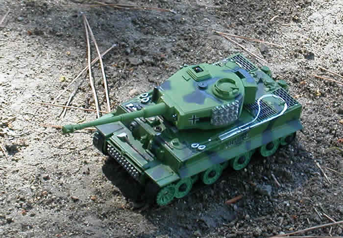 Flash Combat RC Tank