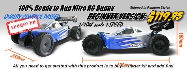 Nitro RC Buggy $99