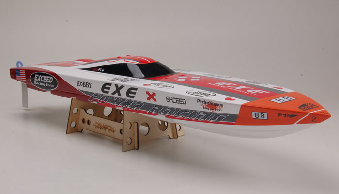 Exceed Racing Electric Powered Fiberglass Dee V 720mm Rc
