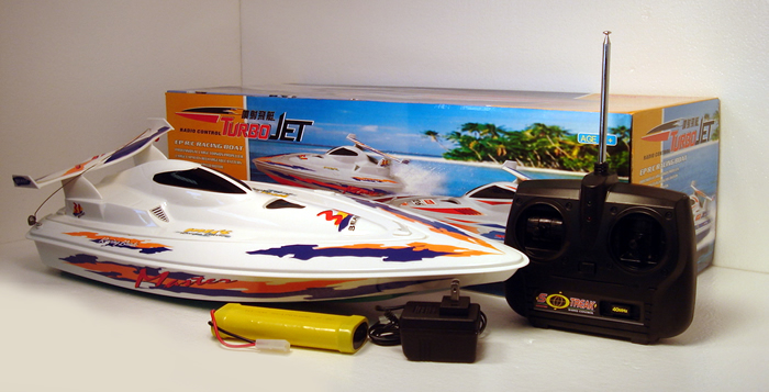 Turbo Jet RC Boat