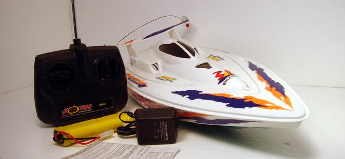 Turbo Jet RC Boat