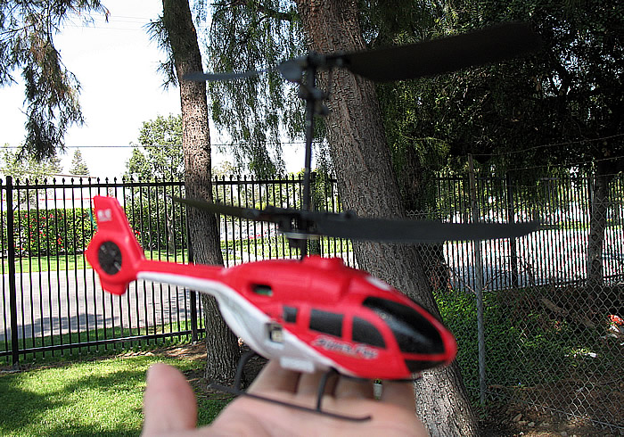 6-D Micro Double Rotors Mini Remote Control Helicopter