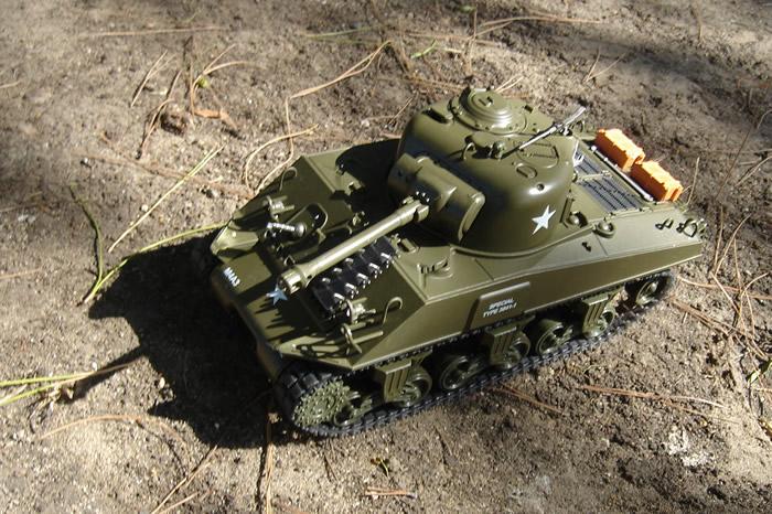 M4A3 Sherman RC Tank