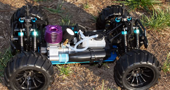 Nitro RCX RC Gas Car