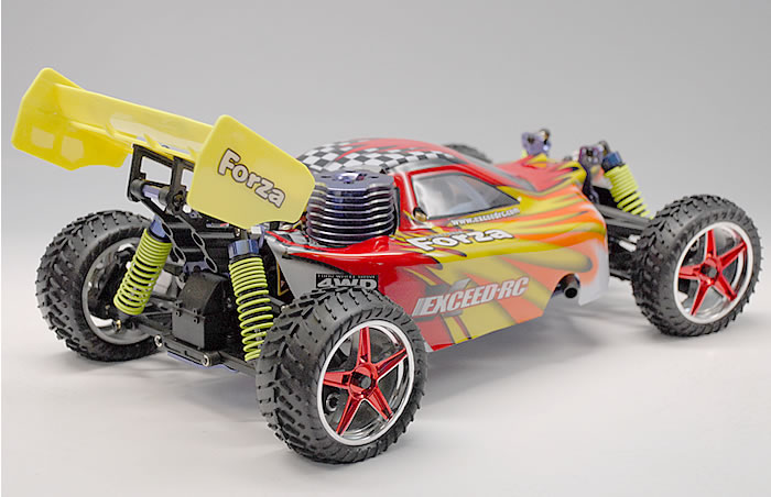 Xtreme Red Buggy Gas Car